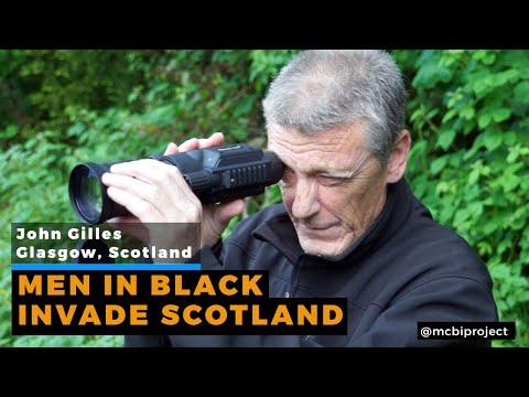 Men In Black Invade Scotland | John Gilles (British A