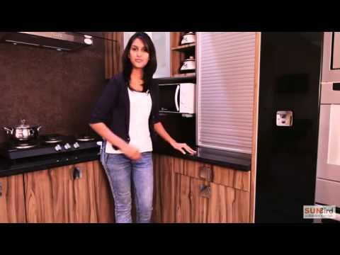 Sunbird Kitchen's L shaped kitchen design by O2 designs