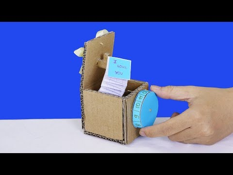 How to make funny gift box for your friends