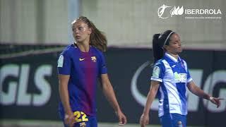 Espanyol 1-3 Barcelona Liga Iberdrola Fútbol Femenino