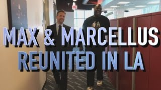 Max & Marcellus Reunited In L.A.   First Take   March 24, 2017
