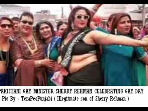 SHERRY REHMAN CELEBRATES GAY DAY..