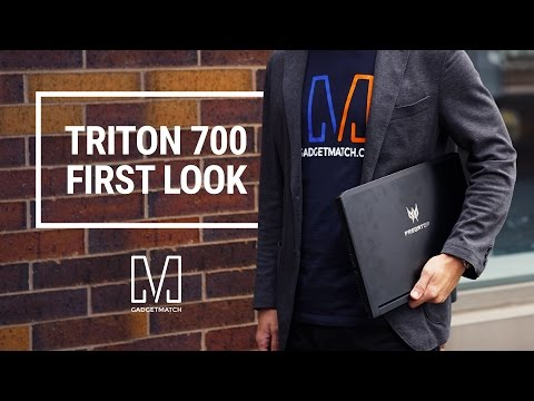 Acer Predator Triton 700 First Look