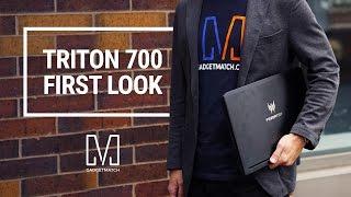 Acer Predator Triton 700 First Look: Ultra-portable Monster Gaming Laptop