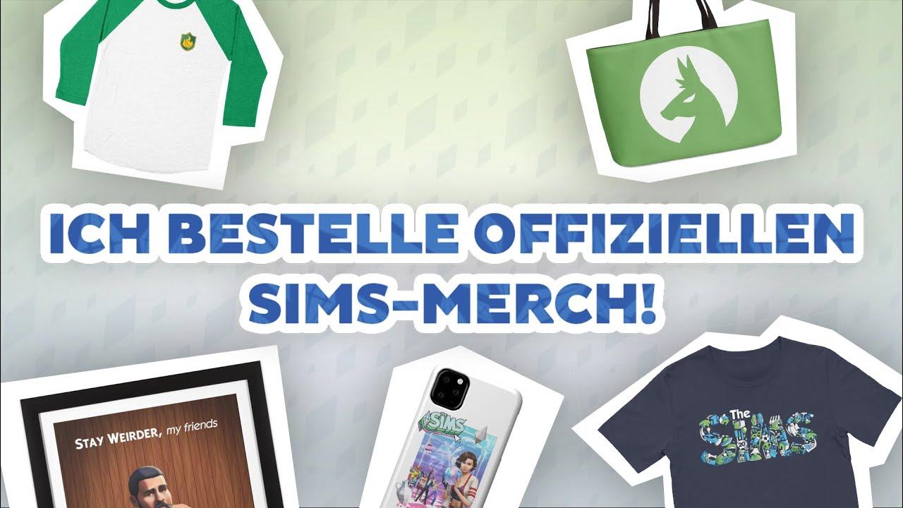 Ich BESTELLE offiziellen Sims-MERCH! | sims-blog.de