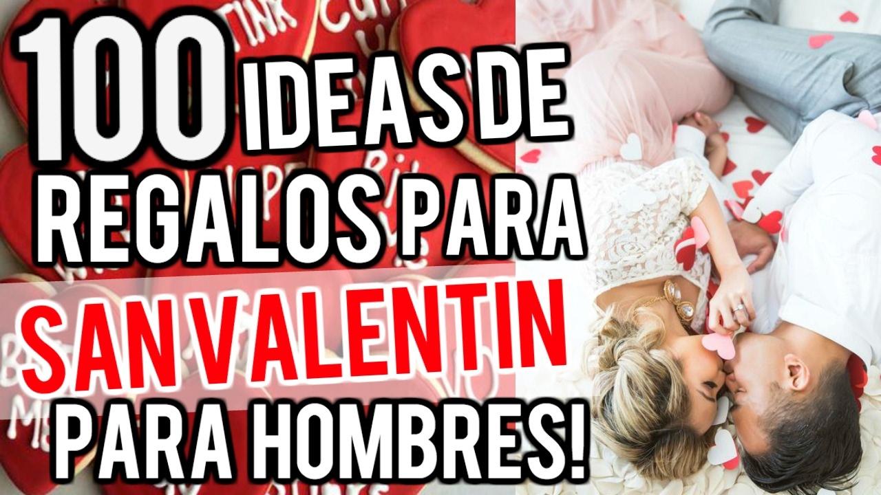 100 Ideas De Regalos Para San Valentin Para Hombres 2017