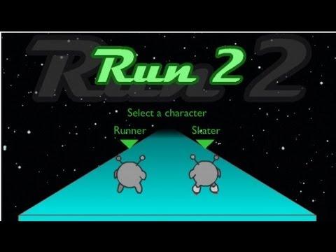 Run 2 Gameplay Cool Math Games 9 Youtube