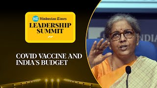 What's govt budget for Covid vaccine distribution? FM Nirmala answers #HTLS2020