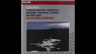Chopin barcarolle in f-sharp major op. 60 - claudio arrau