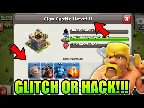 BIGGEST GLITCH OR HACK STILL EXIST IN CLASH OF CLANS (HINDI)