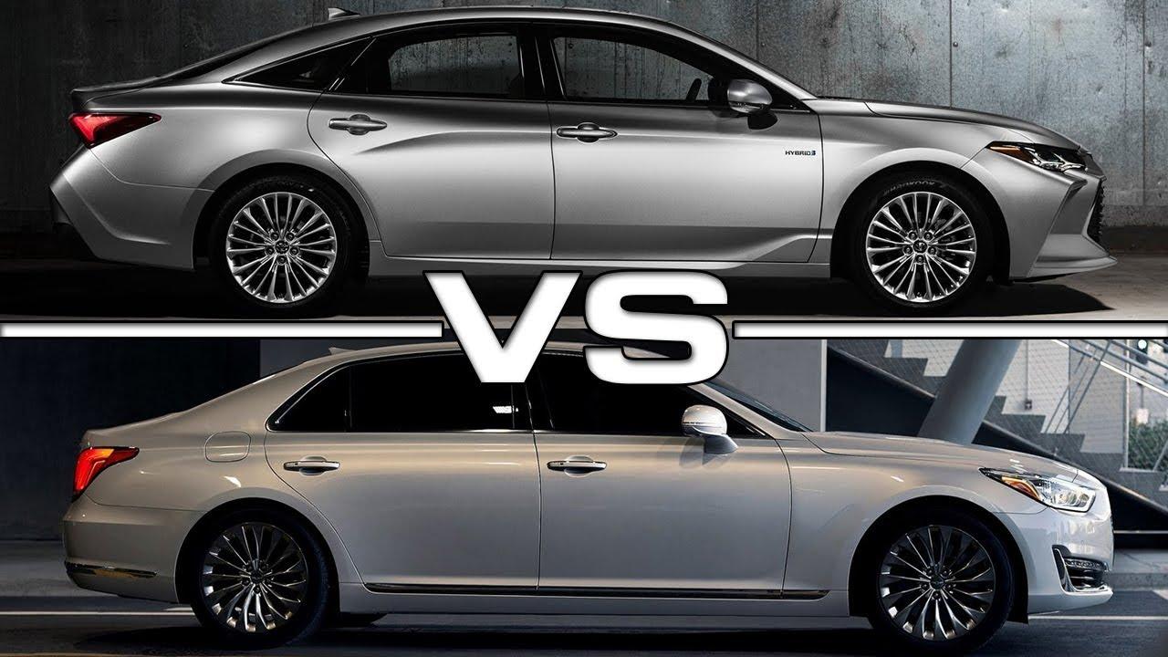 2019 Toyota Avalon vs 2018 Genesis G90 - YouTube