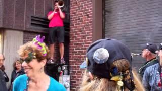 Dirty Water Brass Band/Keyhole Blues/HonkFest 2014 Cambridge MA