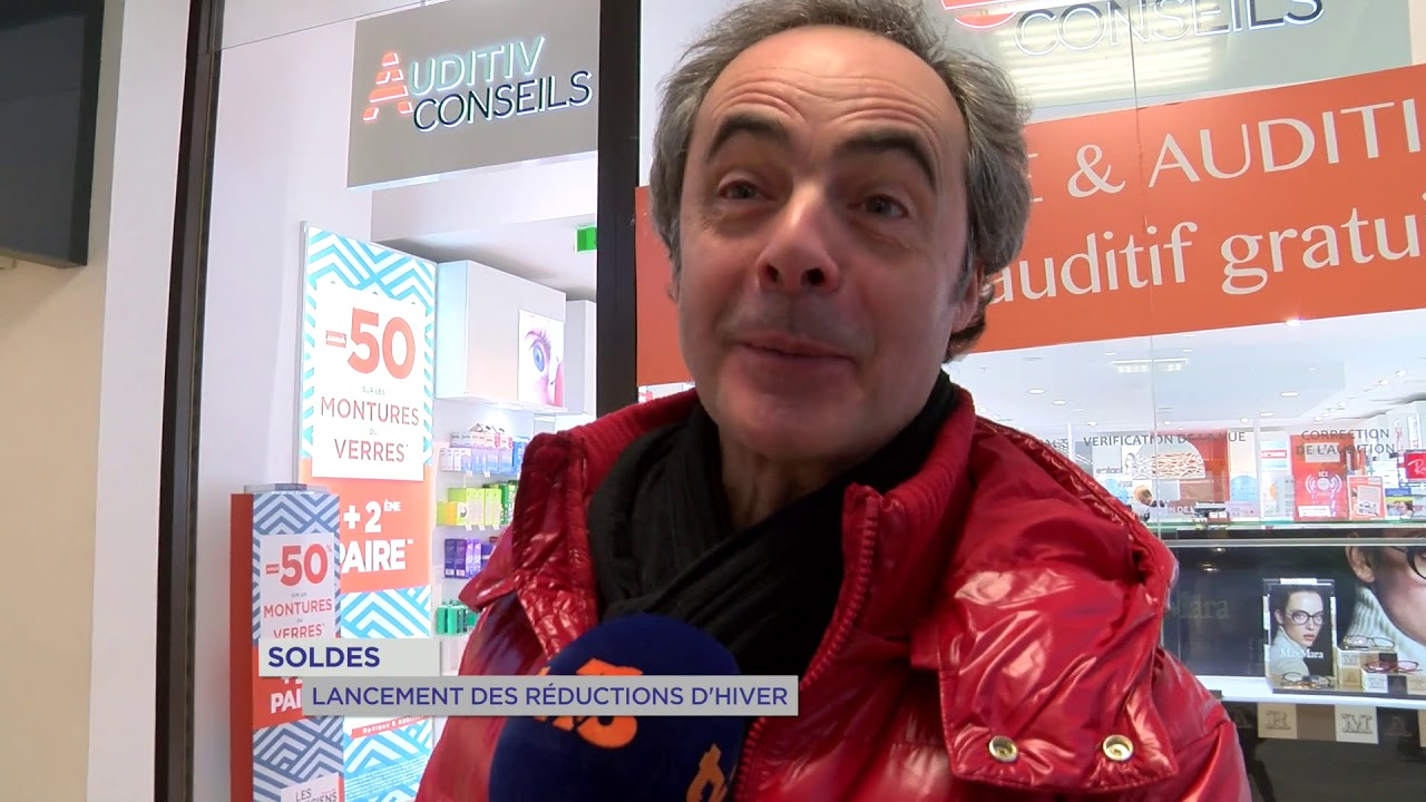 Yvelines | Soldes : Lancement des réductions d'hiver