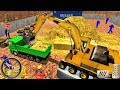 Excavator Truck - Gold Mine Tycoon: Ultimate Truck Drive Simulator - Android GamePlay