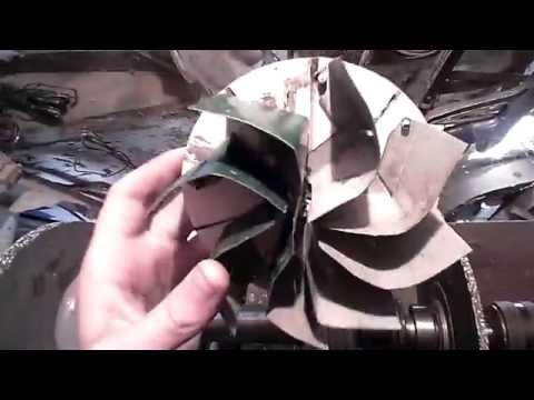 Самодельный вентилятор для поддува горна
