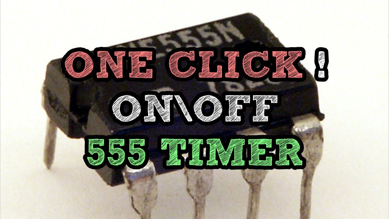 Push On Off 555 Timer Circuit One Click To Turn Astable