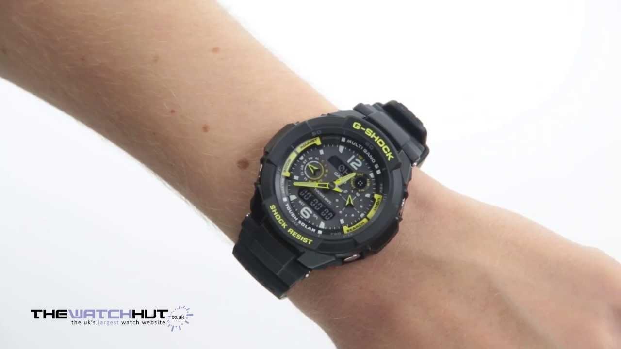 Casio g shock chrono watch gw 3500b 1aer youtube