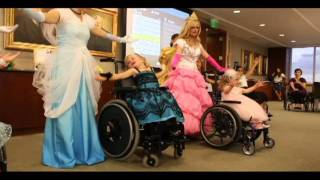Ms. Wheelchair Utah Little Wheelz contestants perform at their prin...