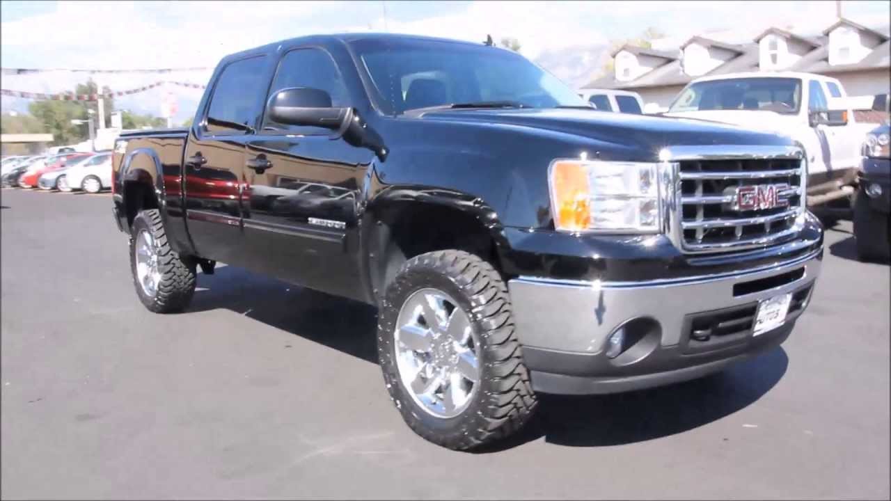 2013 Gmc Sierra 1500 Slt 4x4 Z 71 Vortec V8 New Tires 20in