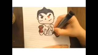 TEKKEN POP CHARACTER DRAWING