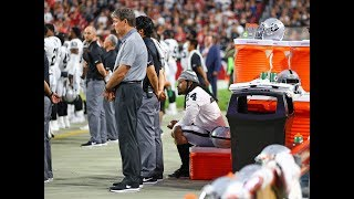 Marshawn Lynch Sits During Anthem | Stadium