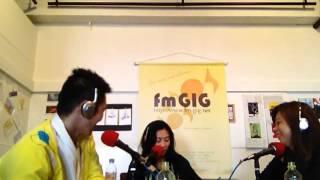 2013/4/14放送のゲストトーク。 <fmGIG番組、ふーみん&ともみんのLupy...