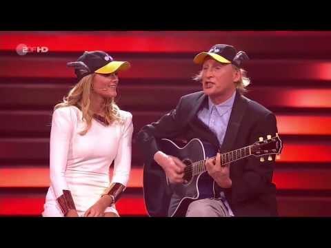 Helene Fischer im Duett mit Otto Waalkes - Aber bitte mit Sahne - Udo Jürgens Cover - Show ZDF HD