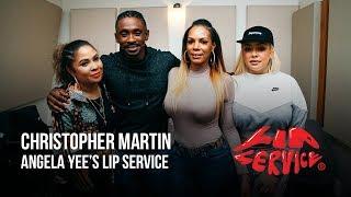 Angela Yee's Lip Service Ft. Christopher Martin