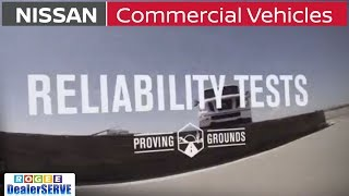 Commercial Vehicles Proving Grounds - RELIABILITY Tests - Nissan NV Cargo Vans - ROGEE