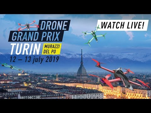 LIVE | Race Day 2 is here! Drone Champions League in Turin! #DCL19