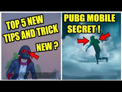 PUBG MOBILE TOP 5 NEW TIPS AND TRICK IN ZOMBIE MODE ? New update 0.12 !