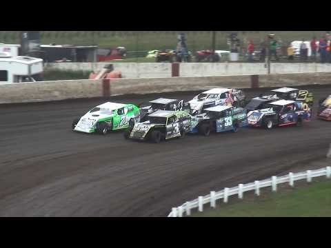 40th Yankee Dirt Track Classic Modified Last Chance Race 1 Farley Speedway 9/2/17