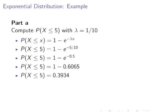 Introduction to Probability : Exponential Distribution