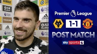 'It was horrible!' | Ruben Neves jokes about the VAR check after his stunning goal | Post Match