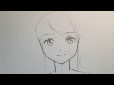 How To Draw Anime Girl Face [Slow Narrated Tutorial] [No Timelapse]