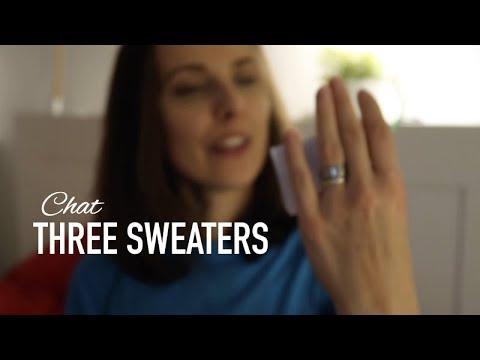 Three Sweaters  ❤︎ CHAT ❤︎ knitting ILove