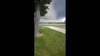 Tornado hits Bondurant, Iowa