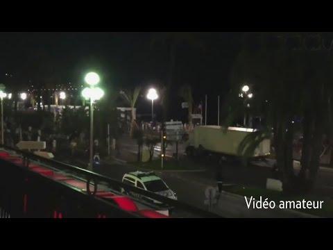 Attentat à Nice : Les vidéos amateur de l'attentat au camion
