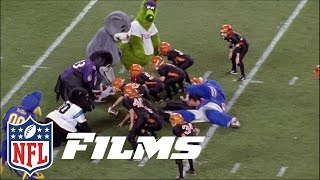 #6 Mascot Mayhem | NFL Films | Top 10 Football Follies of All Time