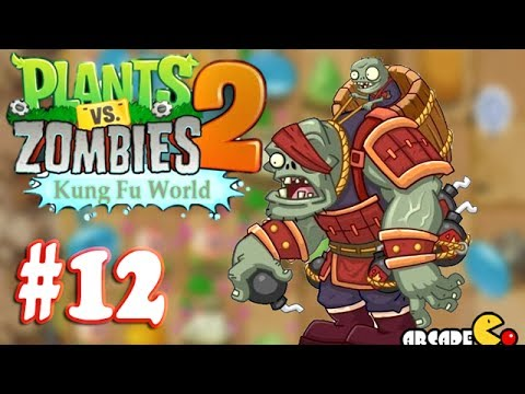 Thumbnail: Plants Vs Zombies 2: (NEW Update ZOMBOSS) Kung Fu World Day 16 - Walkthrough Part 12 (China Version)
