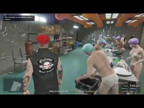 Gta5 online new biker dlc drug empire part 2