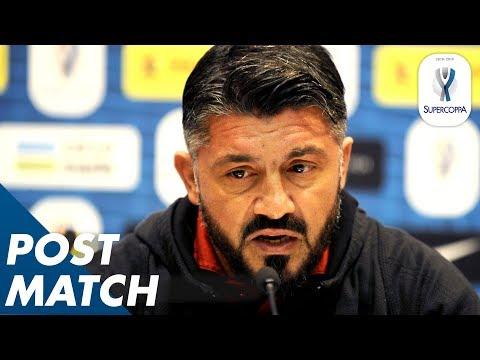 Juventus 1-0 Milan | Gattuso's Conference After Milan lose to Juve | Post-Match