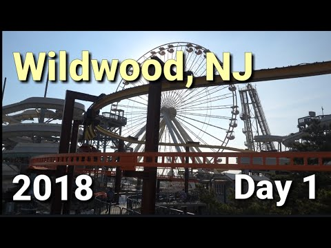 Wildwood, NJ 2018! Day 1