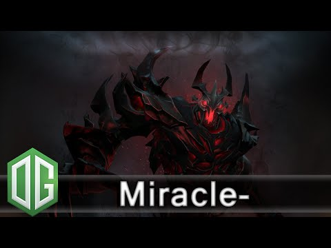OG.Miracle- Shadow Fiend Gameplay - Ranked Match - OG Dota 2