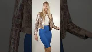Vídeo: FALDA GLITTER
