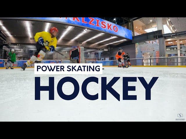 Power Skating   Outside Edge