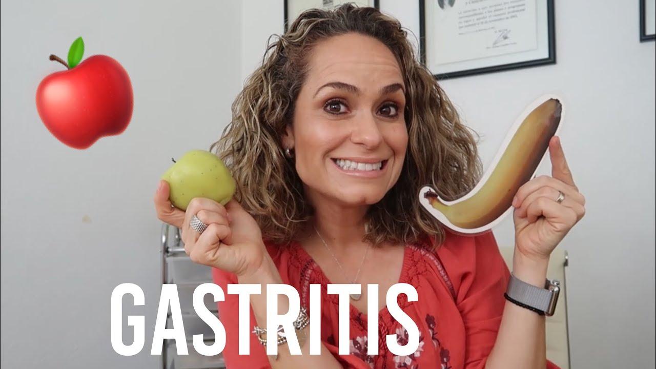 Tengo gastritis cronica que debo comer