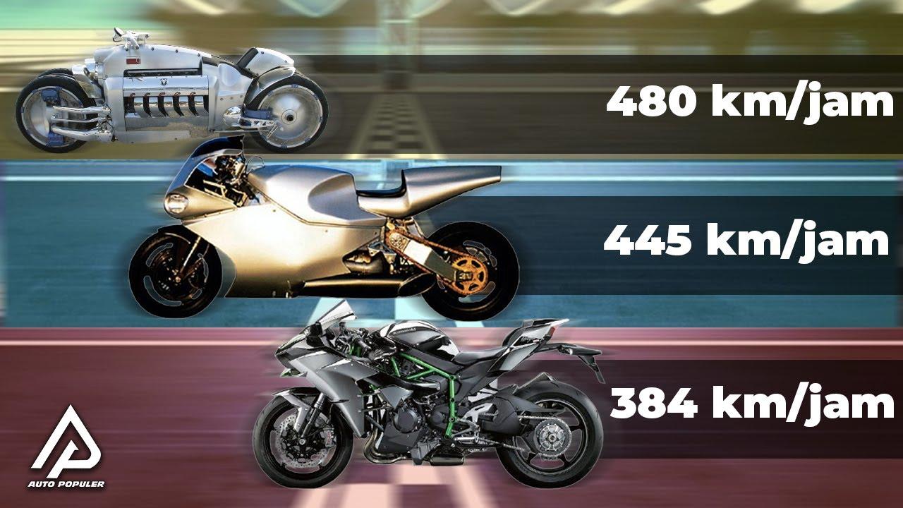Kecepatan Motogp Kalah!! Inilah Motor Sport Tercepat di Dunia Sampai Saat ini...
