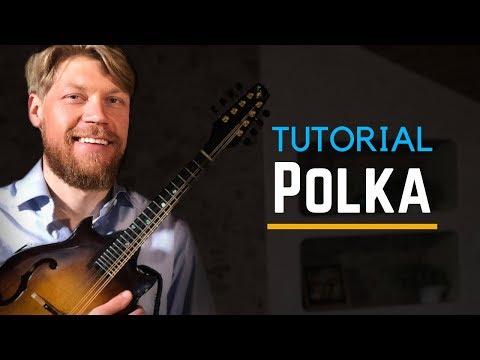 Mandolin Lesson - Polka from Värmland - Nordic Folk Music - Tutorial thumbnail