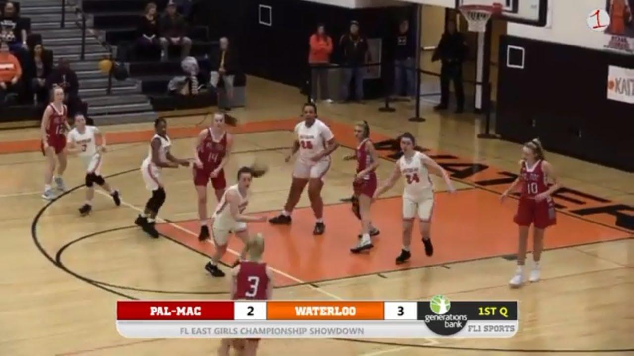 Pal-Mac Red Raiders vs. Waterloo Indians .:. FL1 Sports presents FL East Girls HS Basketball 2/14/20